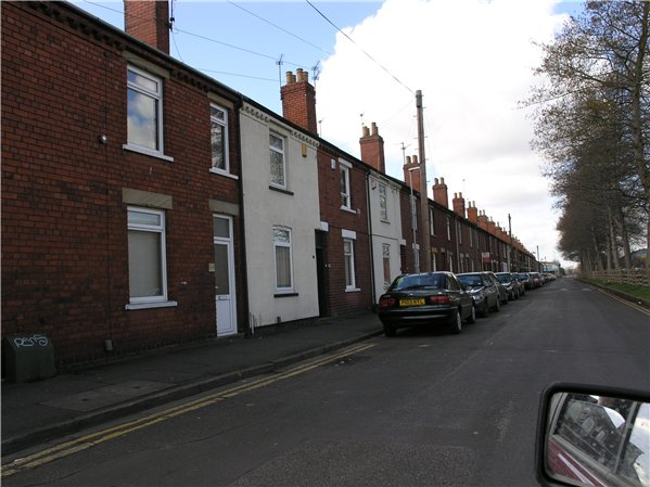 Coulson Road is a continuation of Boultham Avenue. Its construction was proposed by Lincoln Cooperative Society in 1911 and the terraced houses were probably built soon after – they were completed by 1938