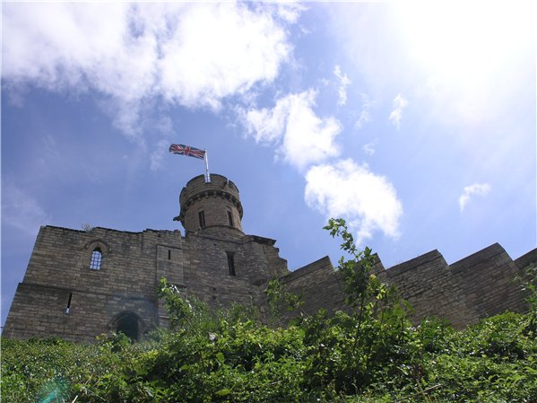 View of Lincoln Castle's Observatory Tower