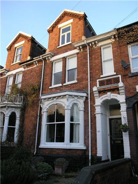 Terraced House In The Character Area That Have Dormer Windows Set At Front Of