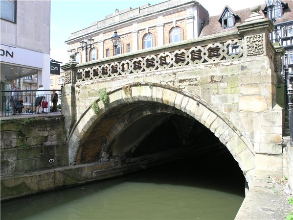 High Bridge spanning the River Witham in the west of the Character Area