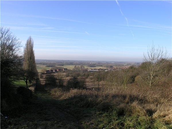 Southerly views of Lincoln's rural hinterland