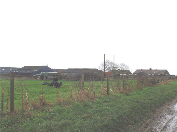 Collection of farm and residential buildings north of Greetwell Road in the south of the Character Area