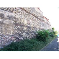Mint wall is located in the Castle Character Area and was part of the roman built basilica.